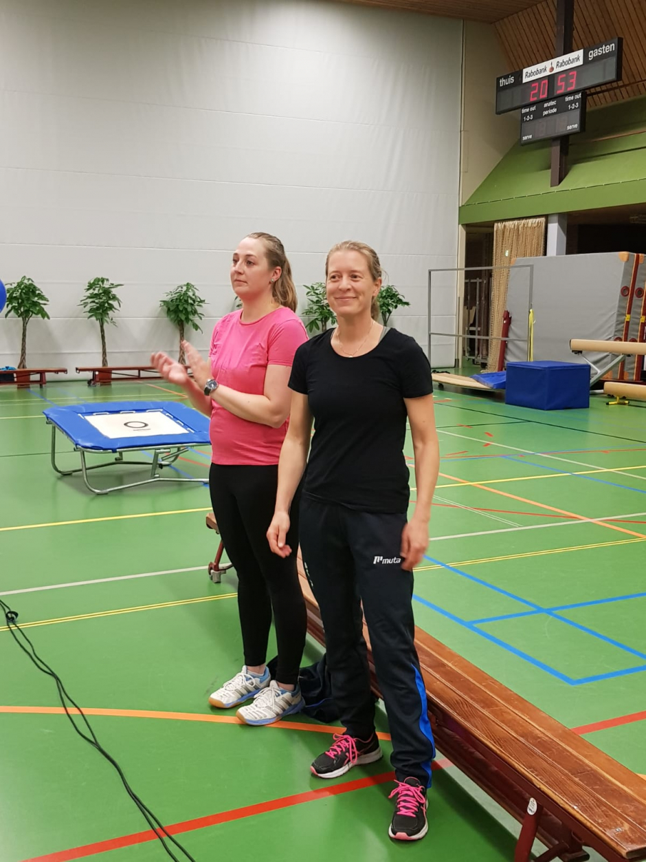 Organisatoren Ilse & Mariët